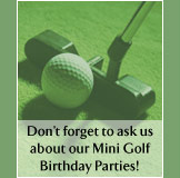 Mini Golf Birthday Parties
